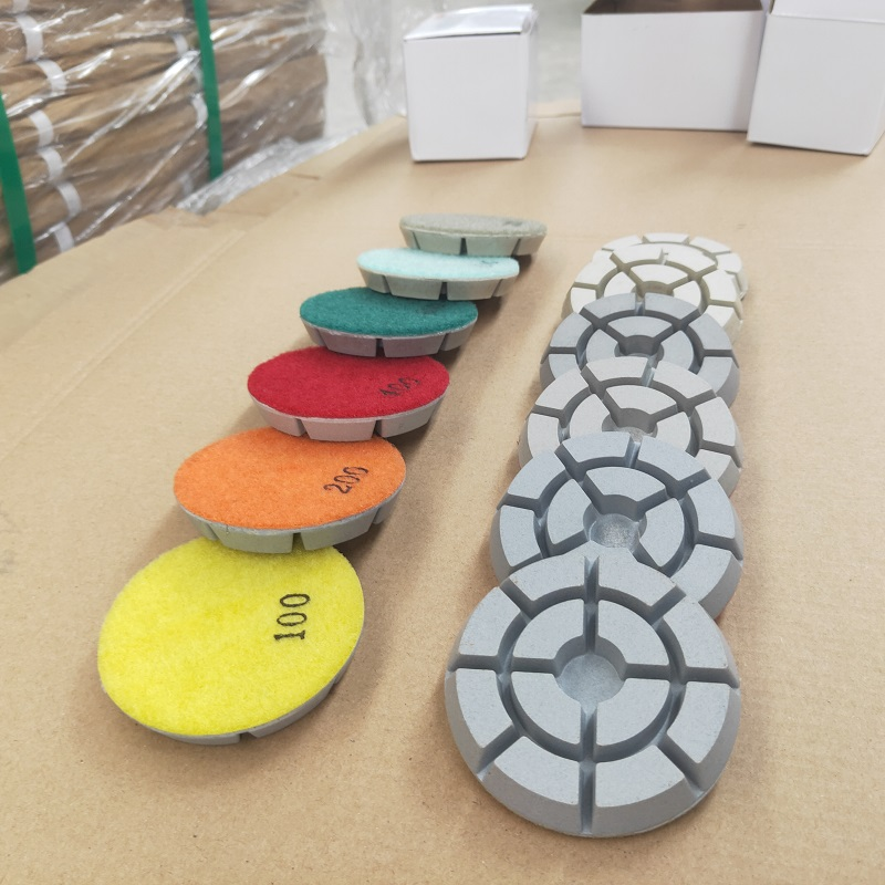 htc concrete polishing pads