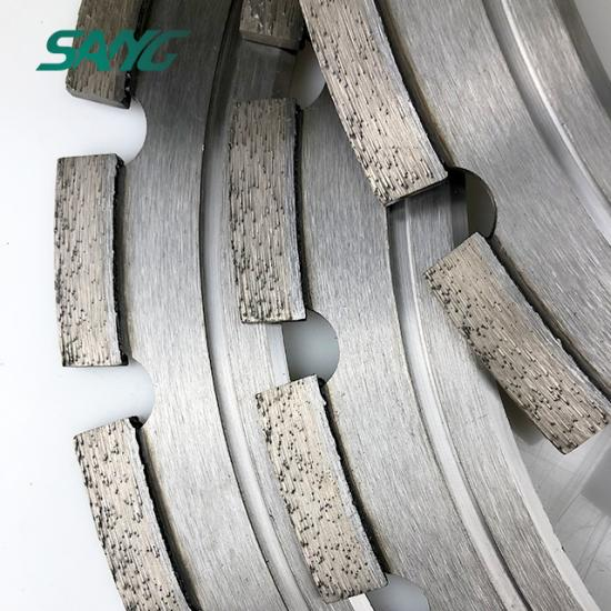 diamond saw blade for concrete, road cutting blade, husqvarna ring saw blade
